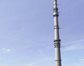 Ostankino Television Tower 3D model