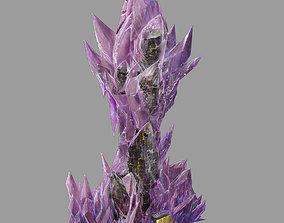 Battlestar - Icefield - Frosty Tower 01 3D