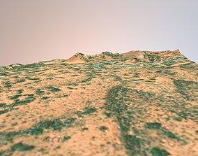 Utah Arches National Park Landscape 3D model PBR
