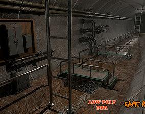 Modular Sewers PBR 3D asset