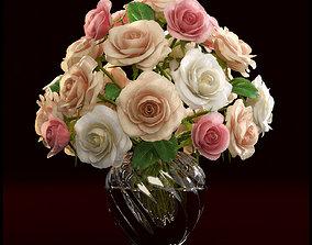 decoflower Roses 3D model