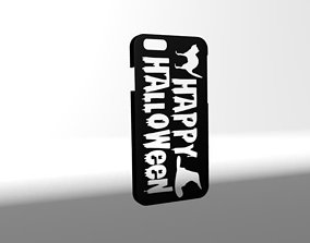 3D print model Happy Halloween Two Case for Iphone 6