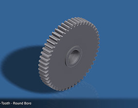 3D printable model 50-Tooth Spur Gear 03
