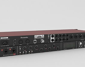 Focusrite Scarlett 18i20 Audio Interface 3D
