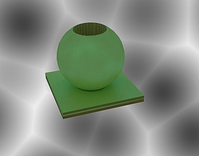 Sphere Vase 3D printable model