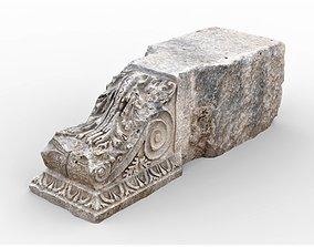 3D model Perge Ancient Rock 9