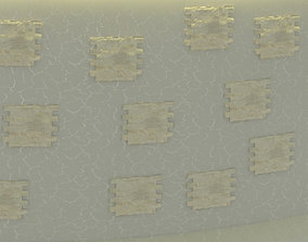 3D asset realtime Stone Wall