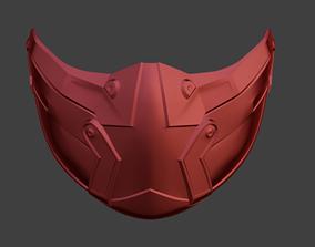 3D printable model Skarlet KGB female mask from Mortal 1