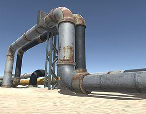 Pipeline Modular Set 3D model