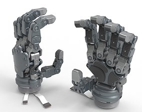 3D Robot Android Hand