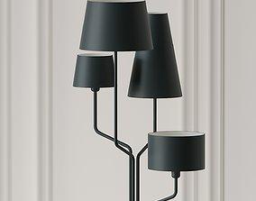 Tria Floor Lamp by Almerich 3D