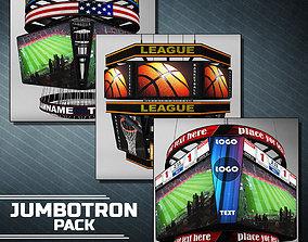 Jumbotron scoreboard sport pack 3D