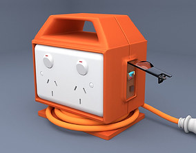 3D model SAFETY ELECTRICAL BOX