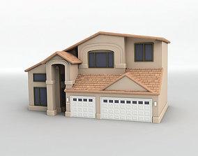 3D asset VR / AR ready House 1