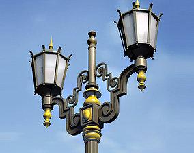 Victorian Lamp 3D