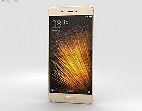 3D model Xiaomi Mi 5 Gold
