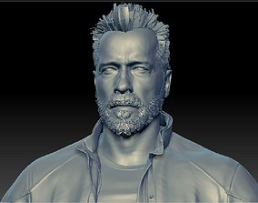 Terminator 3D model low-poly
