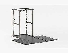 Technogym Olympic Power Rack 3D