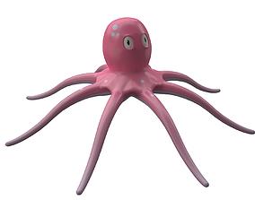 3D asset realtime octopus