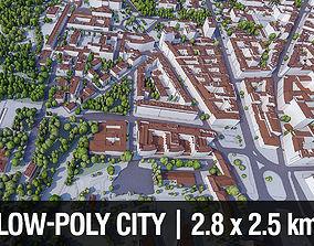 Warsaw City Center 3D asset