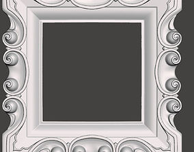 Frame for mirrors or pictures - 3d model for