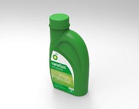 Bp Vanelus plastic oil Bottle 1L 3D model