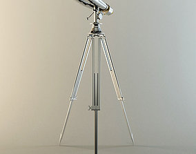 3D model 1920S NAVAL BINOCULAR