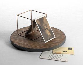 Decorative Cube Composition 3D model