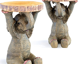 Side Table Animal Elefant 3D print model