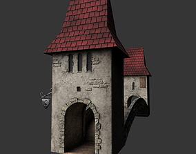 3D asset Fantasy Bridge