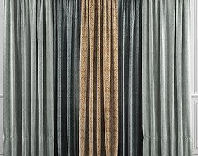 Curtain Set 37 3D model