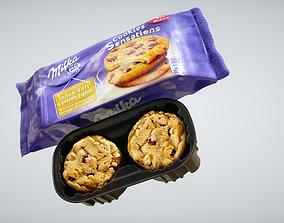 Cookies Milka 3D