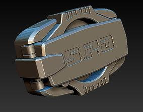 3D print model Power Rangers SPD Buckle Dekaranger Buckle