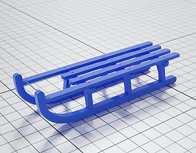 3D printable model Snow Sled