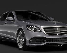 Mercedes Benz S 560 Lang V222 2018 3D