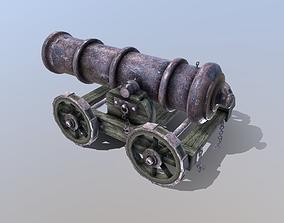 Cannon 3D asset realtime