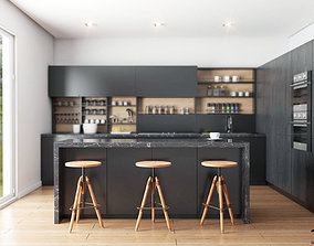 3D model Kitchen interior render