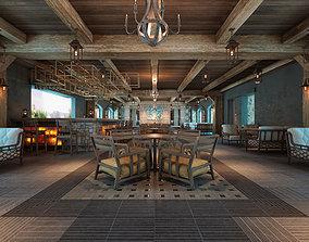 3D model AQ Rustic Restaurant