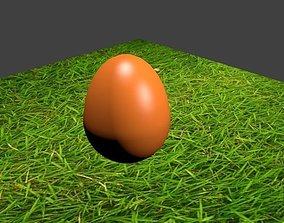 3D model Egg on the grass