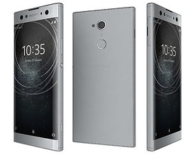 Sony Xperia XA2 Ultra Silver 3D model
