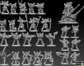 Astroknight Megapack Barehead Edition 3D print model