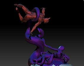 Batman Beyond Versus Inque Fan Art w 3D print model