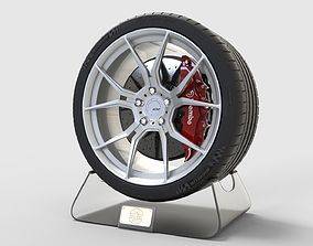 3D asset ADV1 Concept and Michelin Pilot Super Sport