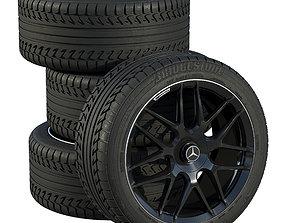 3D Mercedes wheels