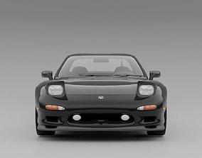 Mazda RX-7 FD3S 3D asset