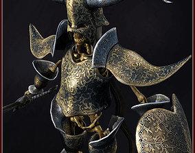 3D model Skeleton Hero Warlord