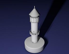 Light tower 3D printable model