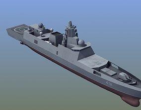 3D asset Frigate Gorshkov