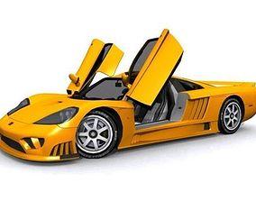 3D asset Saleen S7