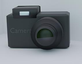 dslr 3D asset VR / AR ready Camera